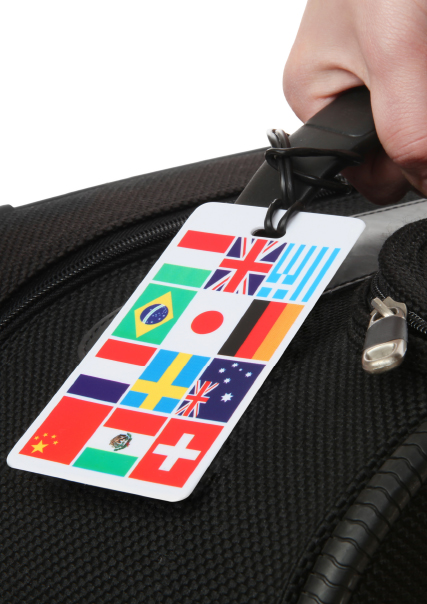 Country Luggage Tags